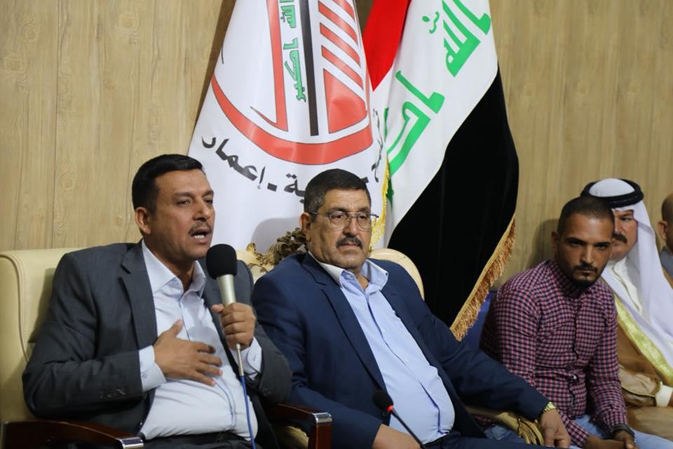 عقد السيد محمد العيساوي عدد من اللقاءات الميدانيه حضرها قيادة حزب تجمع نهضة جيل